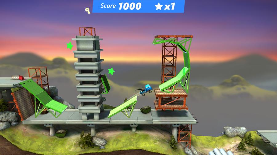 Bridge Constructor Stunts 1
