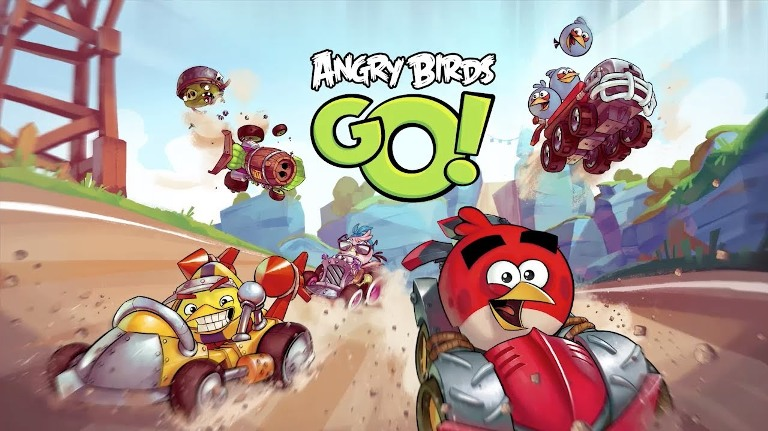 Игра Angry Birds Go