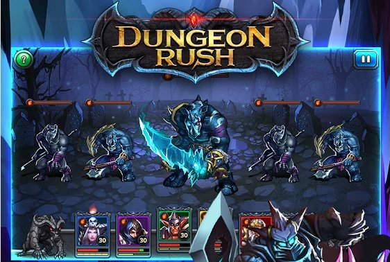 Игра Dungeon Rush