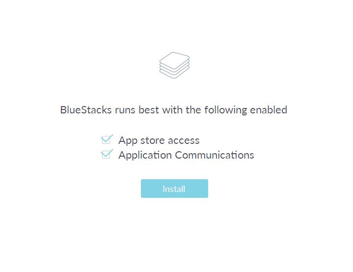 BlueStacks 2 установится на ваш компьютер