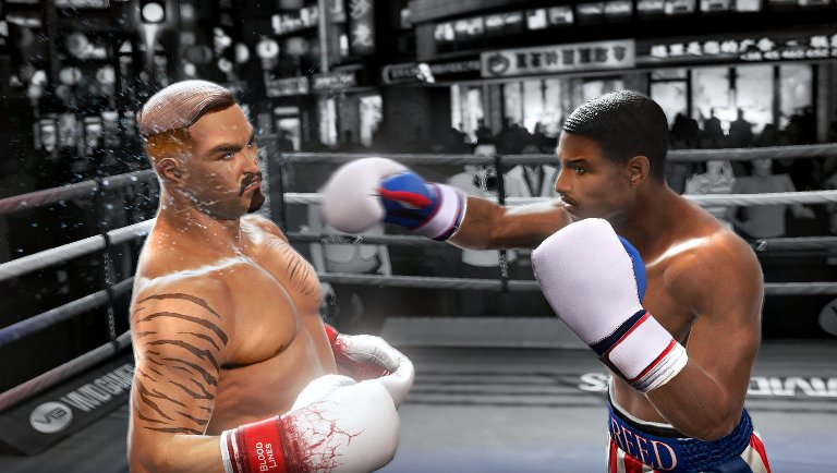 Геймплей Real Boxing 2: Creed