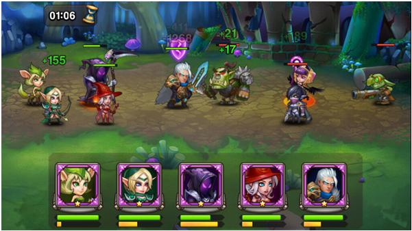 Геймплей Soul Hunters