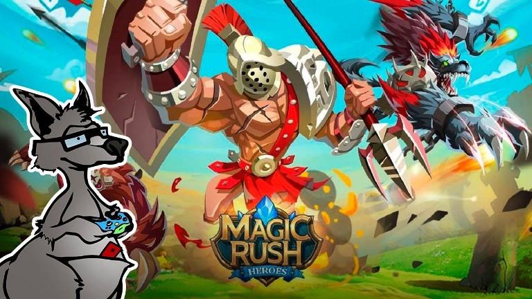 Игра Magic Rush Heroes