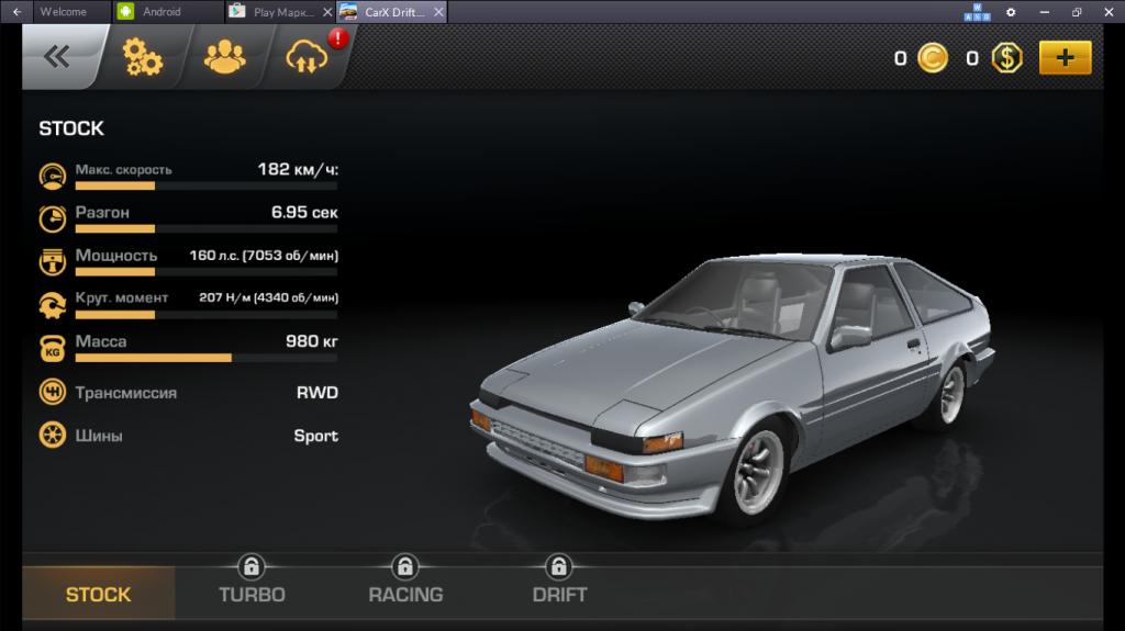 Геймплей Carx Drift Racing