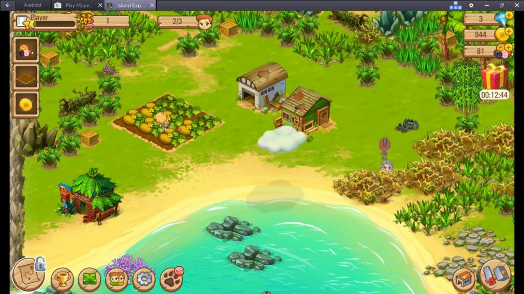 Геймплей Island Experiment