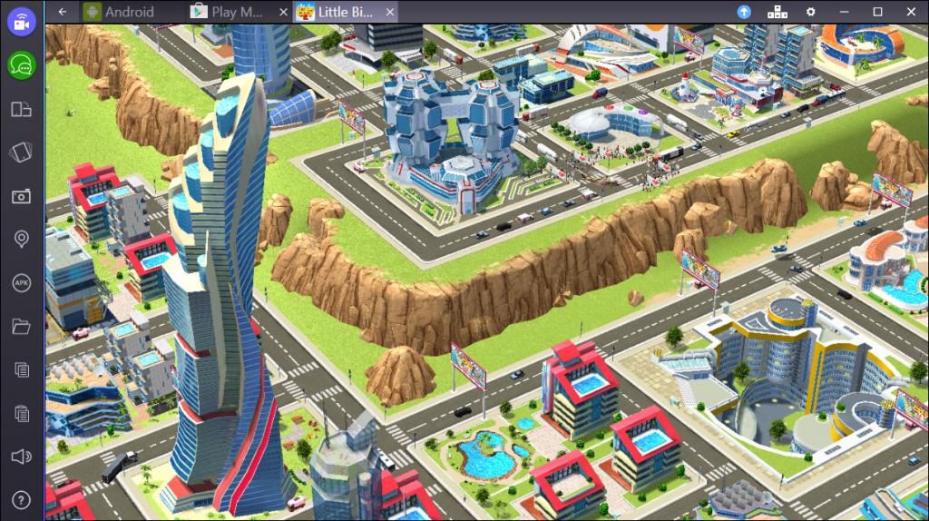 Геймплей Little Big City