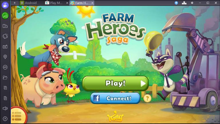 Farm heroes на компьютер скачать
