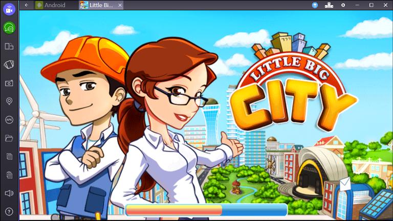 Игра Little Big City