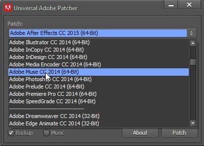 Кряк для Adobe Muse Cc