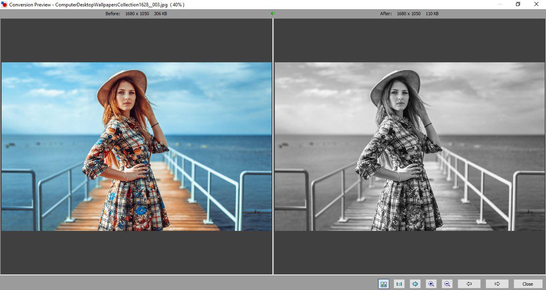 Скачать программу для пакетной обработки фото FastStone Photo Resizer (Фаст Стоун Фото Ресайзер)
