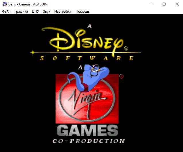 Скачать эмулятор СЕГА (SEGA Mega Drive 2) Gens (Генс)