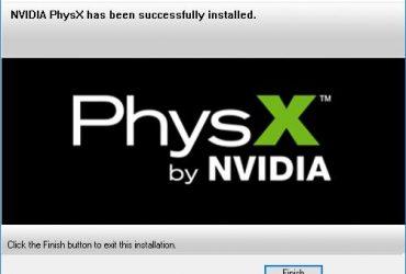 Скачать драйвер Physx для Windows 7
