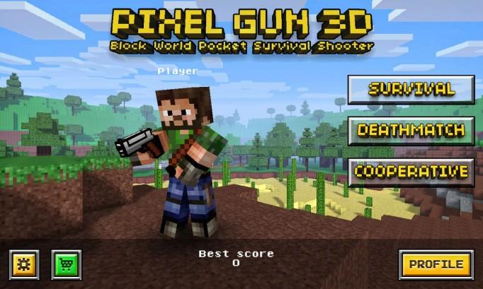 Перестрелки в Pixel Gun 3D