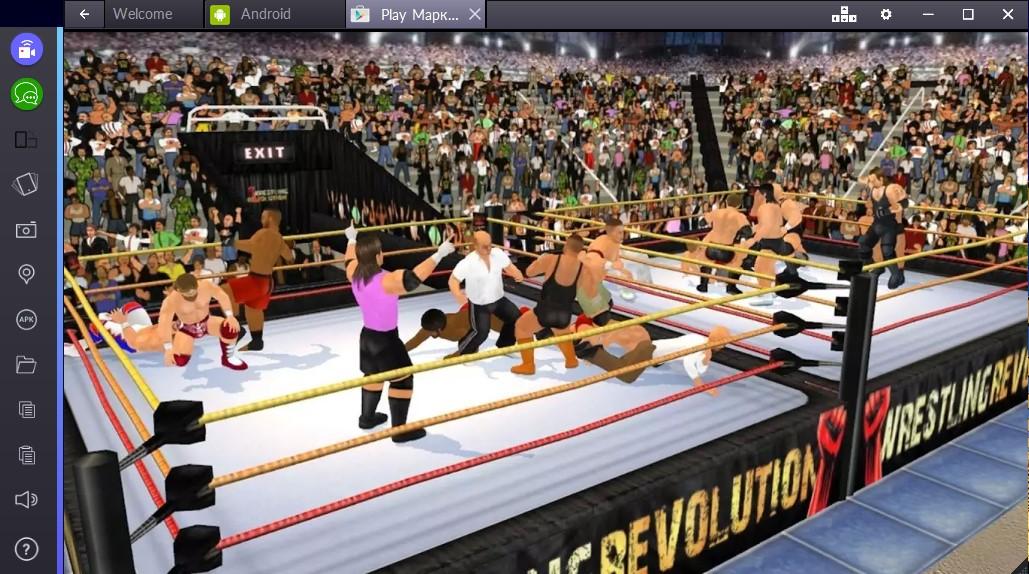 Wrestling Revolution 3D 4