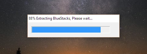 Программа начнет распаковку временных файлов