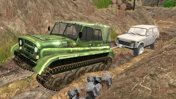 Игра Dirt on Tires