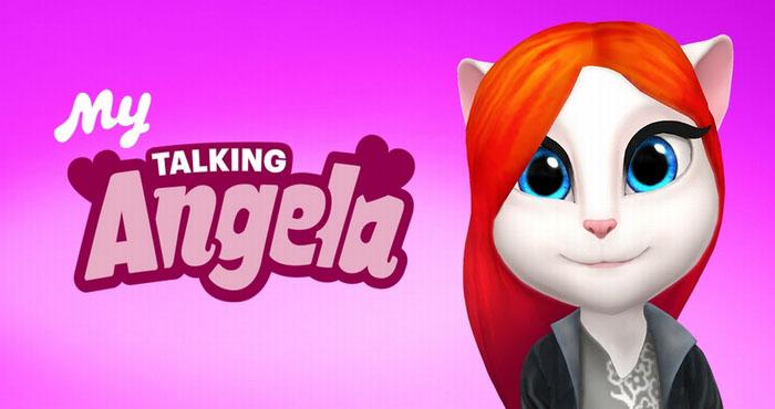 Игра Моя говорящая Анжела