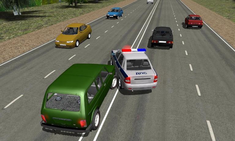 Игра Traffic Cop Simulator 3D