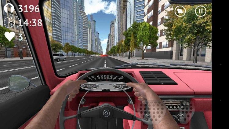 Игра Зона Вождения - Россия