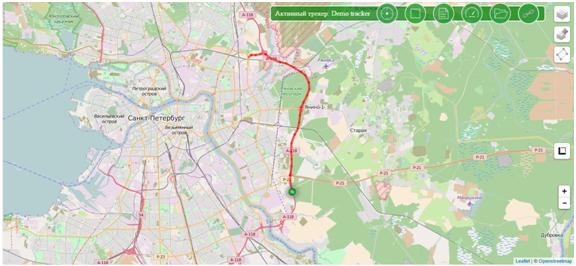 Удобная карта города