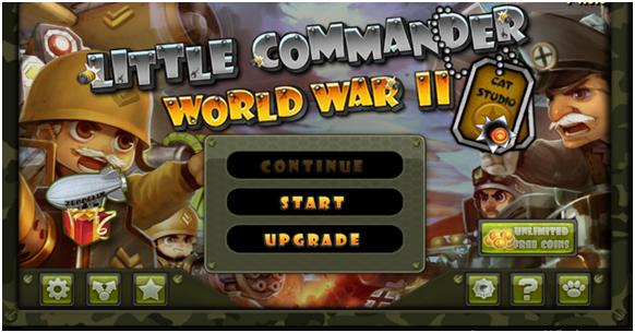 Игра Маленький командир: WWII TD