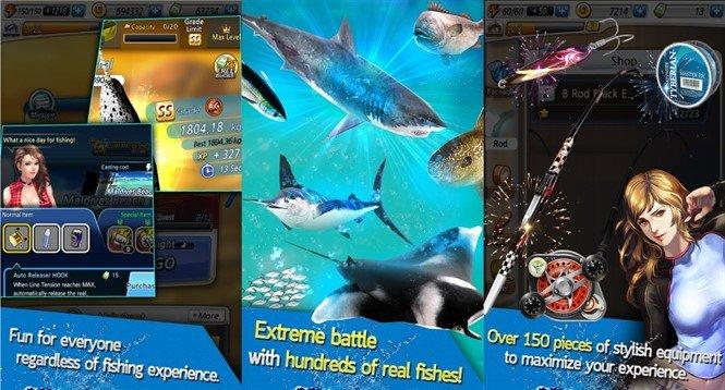 Игра Рыболовный крючок