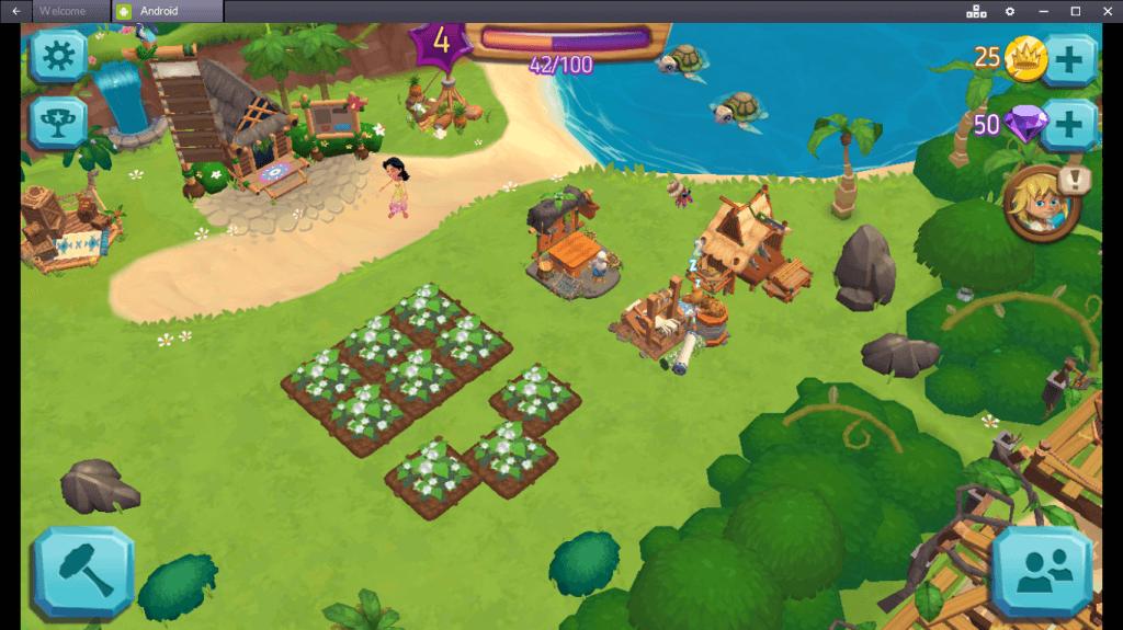 Игровой процесс в Paradise Bay