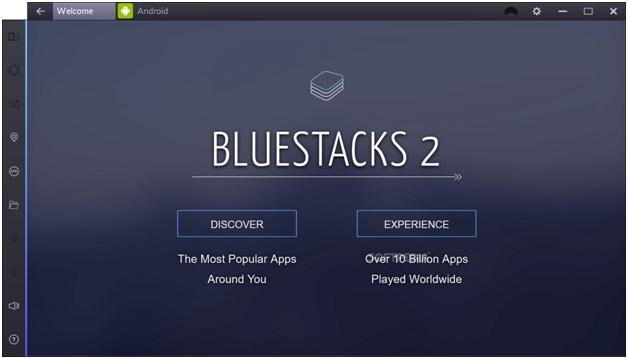 Используем BlueStacks для установки плеера