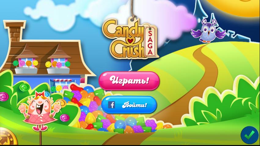 Игра Candy Crush Saga
