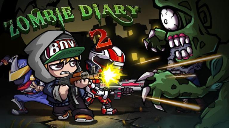 Игра Zombie Diary 2