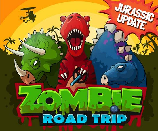 Игра Zombie Road Trip