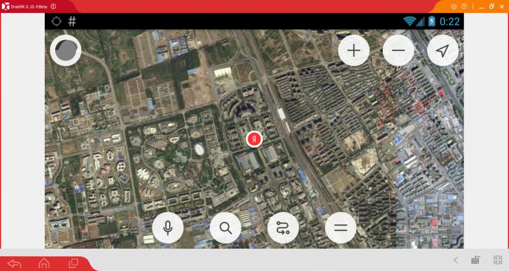 Интерфейс Яндекс.Карты