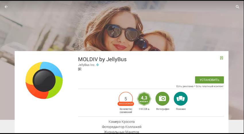 Устанавливаем Moldiv