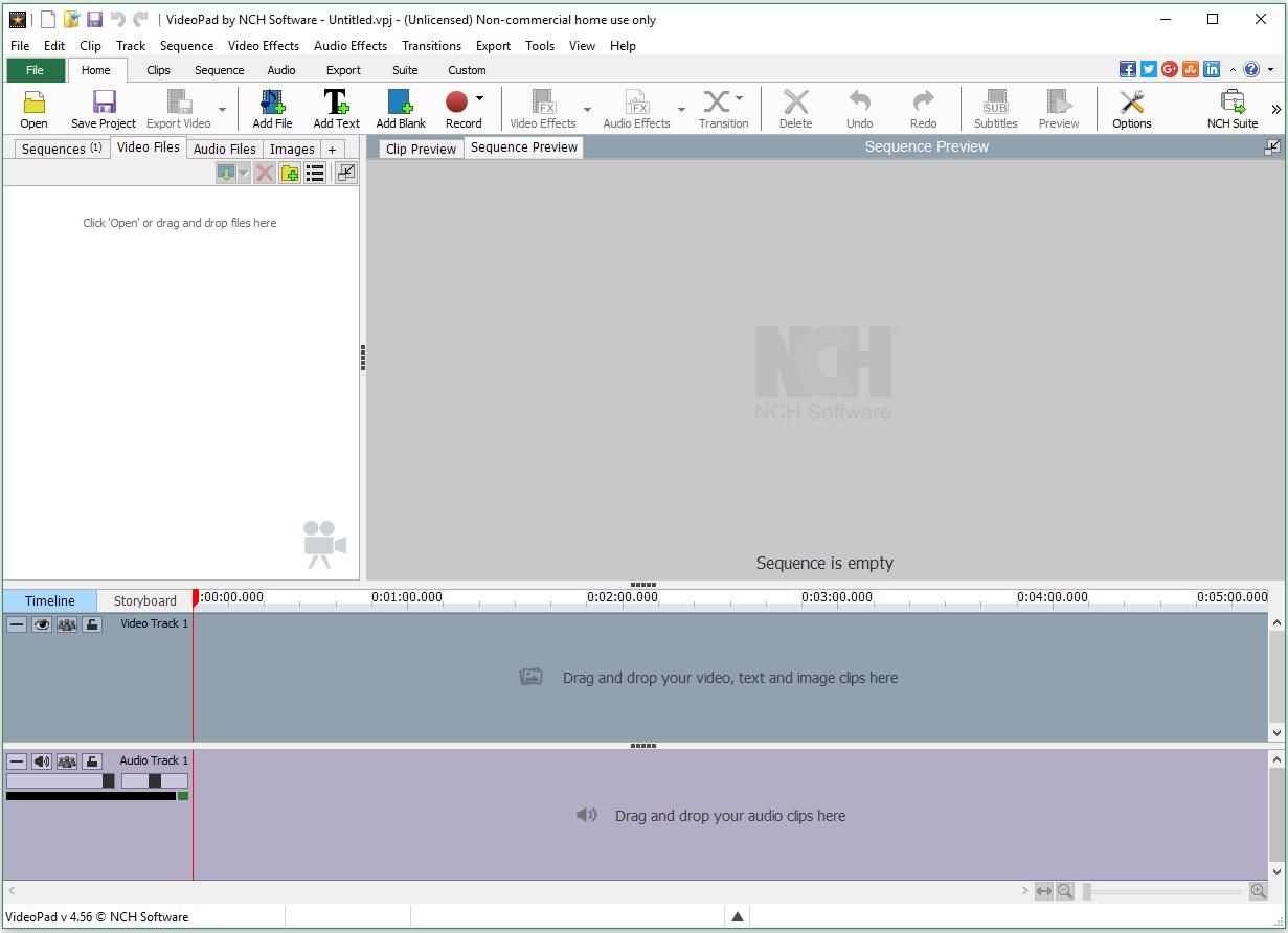 Videopad Video Editor скачать бесплатно на русском